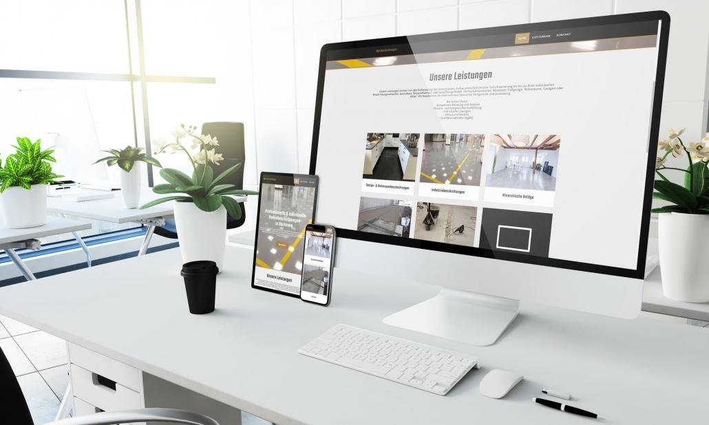 Webdesign S&K Designfloors