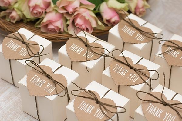 Beispielfoto der Hochzeitsgeschenke